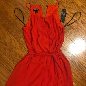 NWOT Red High neck Dress from A. Byer